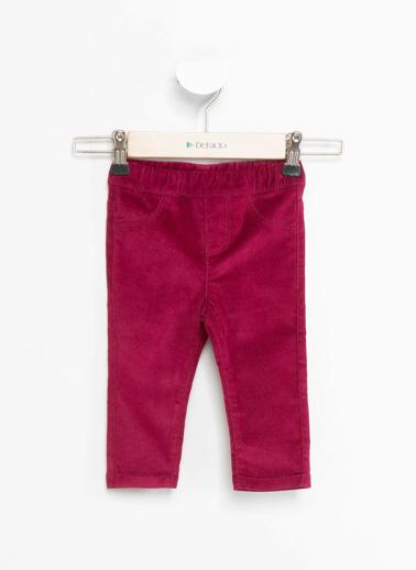 DeFacto Kız Bebek Elastik Belli Pantolon Bordo